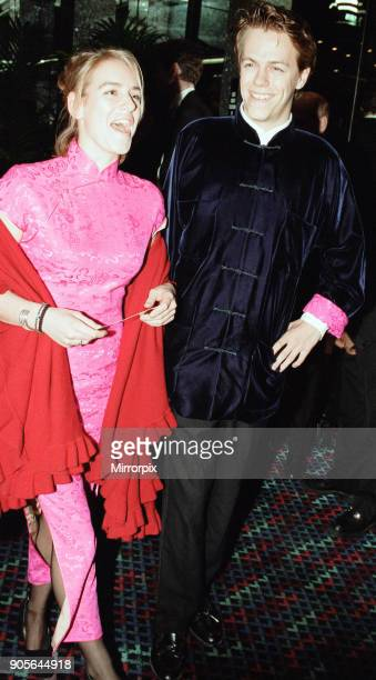 Titanic 1997 film premiere at the Empire in Leicester Square London Tuesday 18th November 1997 Our picture shows Laura Parker Bowles and Tom Parker...