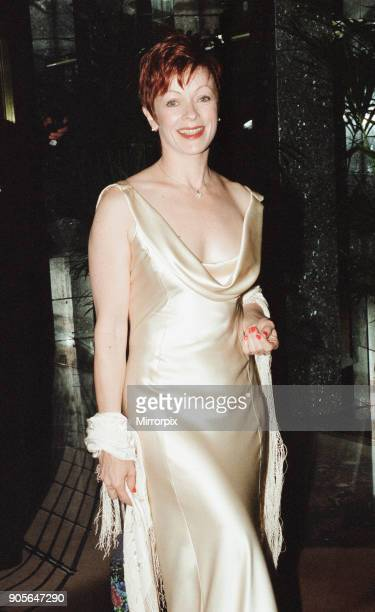 Titanic 1997 film premiere at the Empire in Leicester Square London Tuesday 18th November 1997 Our picture shows Frances Fisher