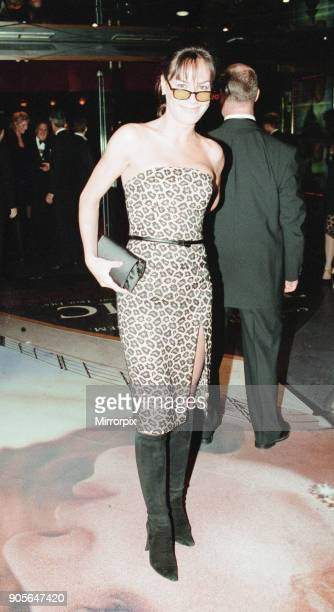 Titanic 1997 film premiere at the Empire in Leicester Square London Tuesday 18th November 1997 Our picture shows Tara PalmerTomkinson