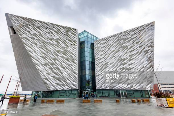 titanic museum in belfast, northern ireland