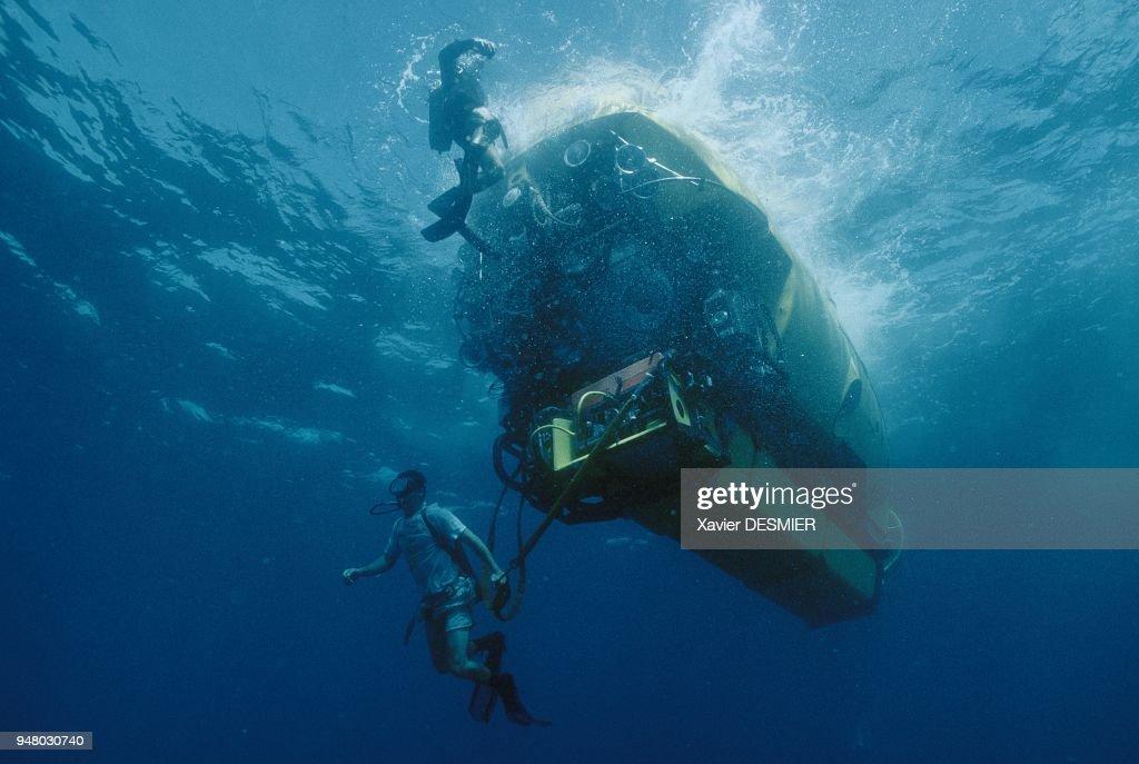 RMS Titanic Expedition : News Photo