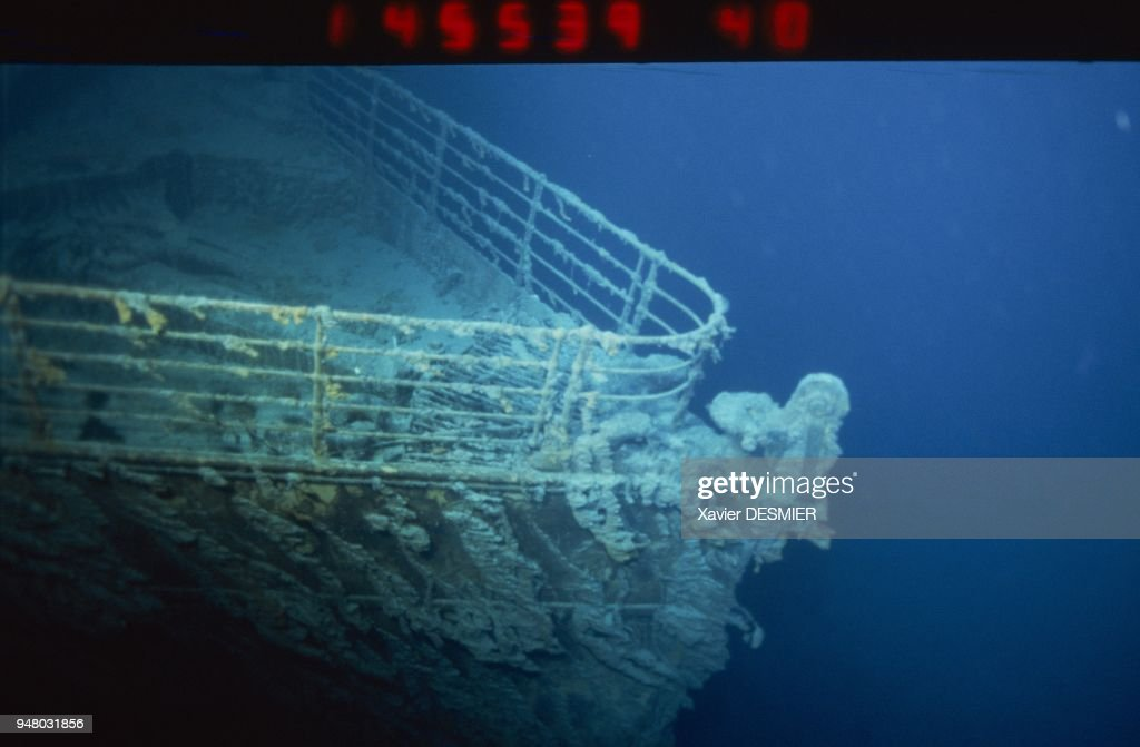 RMS Titanic Expedition : News Photo