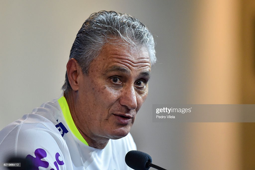 Brazil Training Session and Press Conference - 2018 FIFA World Cup Russia Qualifier