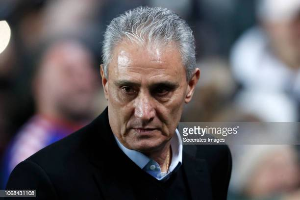 Tite coach of Brazil during the International Friendly match between Brazil v Cameroon at the Stadium MK on November 20 2018 in Milton Keynes United...