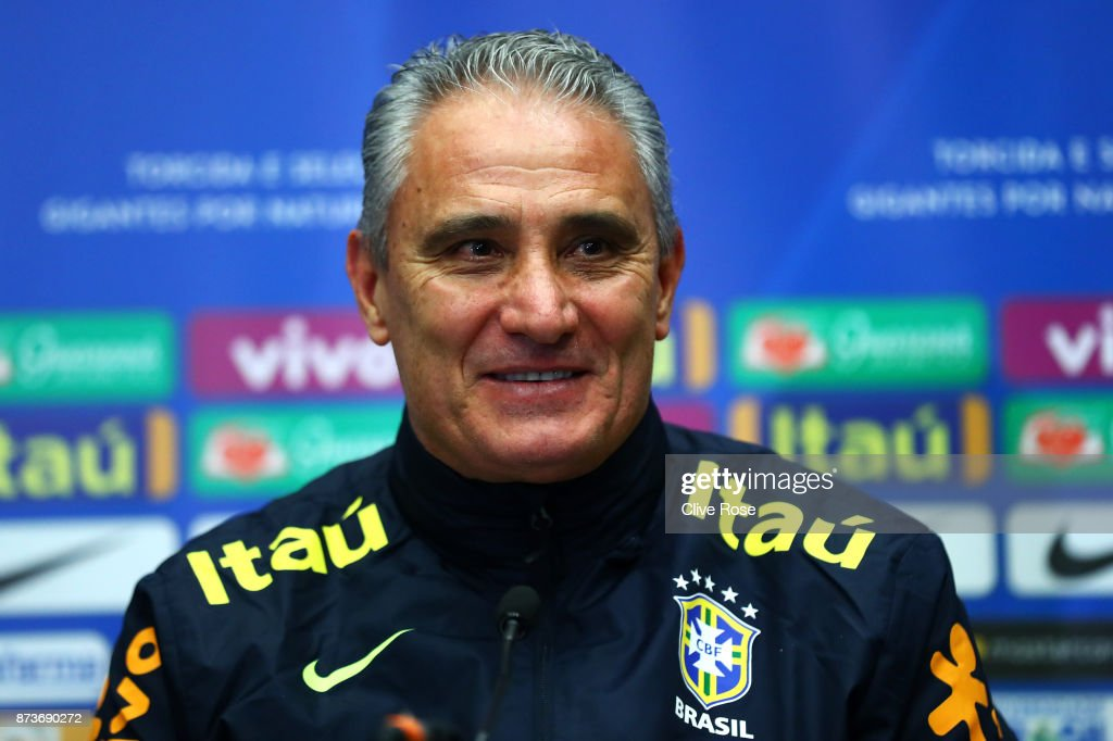 Brazil Training And Press Conference