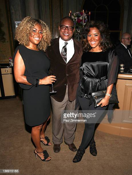 Titi Branch coowner of Miss Jessie hair products Greg Cunningham Strategic Partnership Lifestyle Marketing at Target and Miko Branch Miko Branch...