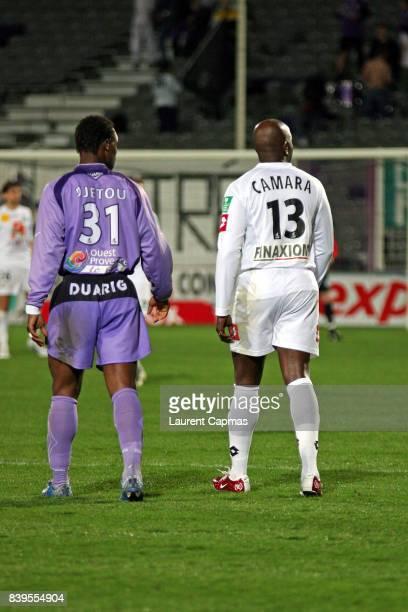 Titi CAMARA / Martin DJETOU - - Istres / Amiens - 32e journee Ligue 2,