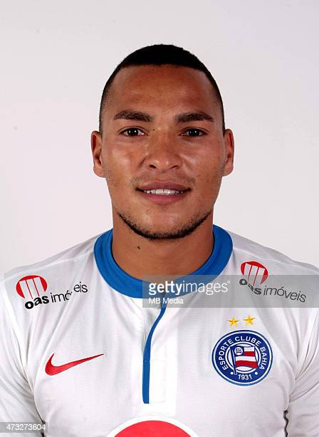 Titi of Esporte Clube Bahia poses during a portrait session August 14 2014 in SalvadorBrazil