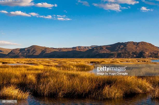 Titicaca lake, near Puno, Peru