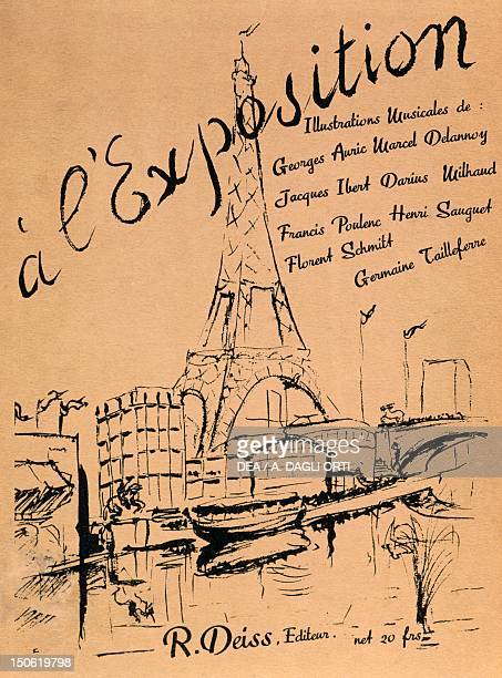 Title page for A l'Exposition France 19th century