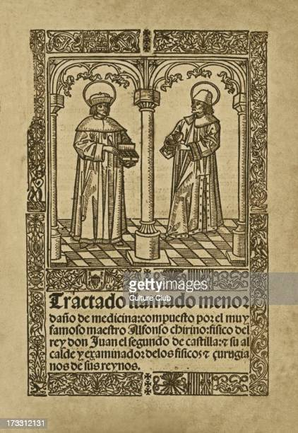'Four Early Spanish Medical Works' part 1 'Tractado Ilamado Menor Dano de Medicina' by Jacobo Cronberger Printed in Seville 1519