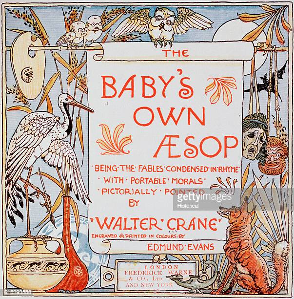 Title Page From Walter Crane's Baby's Own Aesop