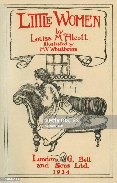 Little Women by Louisa M Alcott. Illustrations by M V Wheelhouse . Louisa May Alcott