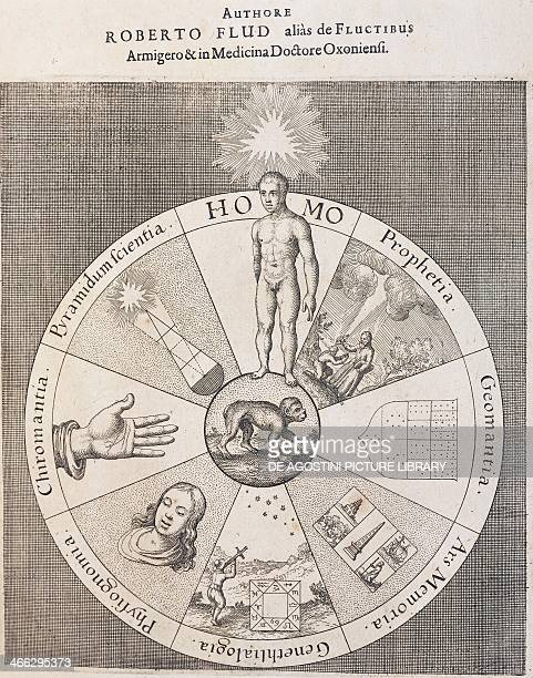 Title page of The technical microcosm of history The Metaphysical Physical and Technical History of both Major and Minor Worlds by Robert Fludd...