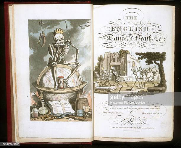 Title Pages for The English Dance of Death