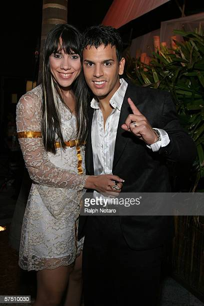 Tito El Bambino And His Wife Jessica Santiago Are Seen During The