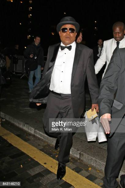 Tito Jackson attending the GQ awards on September 5 2017 in London England
