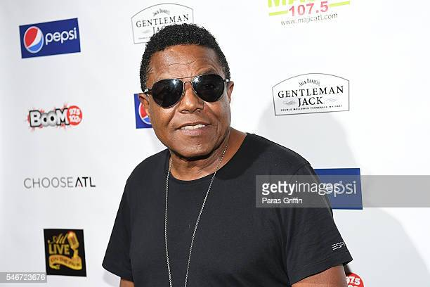 Tito Jackson attends ATL Live On The Park at Park Tavern on July 12 2016 in Atlanta Georgia