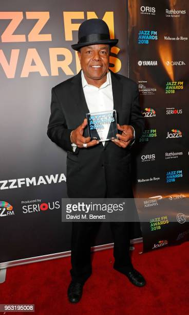 Tito Jackson attends the Jazz FM Awards 2018 at Shoreditch Town Hall on April 30 2018 in London England