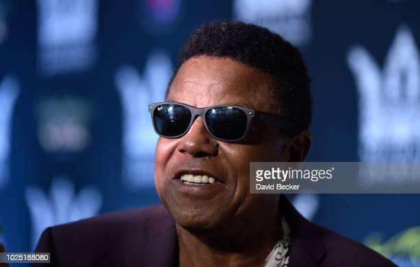 Tito Jackson attends the Michael Jackson diamond birthday celebration at Mandalay Bay Resort and Casino on August 29 2018 in Las Vegas Nevada