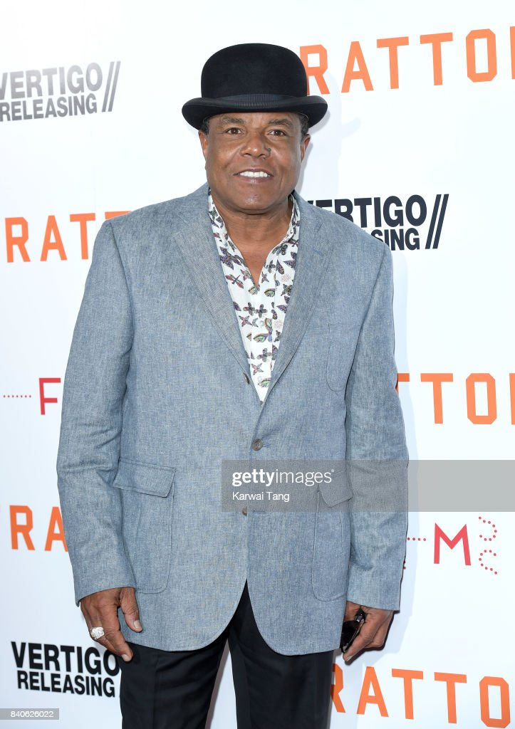 Tito Jackson attends the 'Stratton' UK Premiere at the Vue West End on August 29, 2017 in London, England.