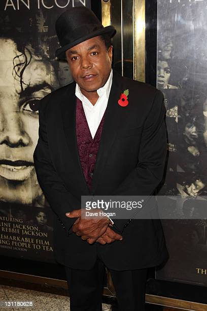 Tito Jackson attends the UK premiere of 'Michael Jackson The Life Of An Icon' at The Empire Leicester Square on November 2 2011 in London United...