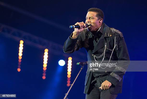 Tito Jackson of The Jacksons performs on stage at BBC Proms in the Park at Hyde Park on September 12 2015 in London England