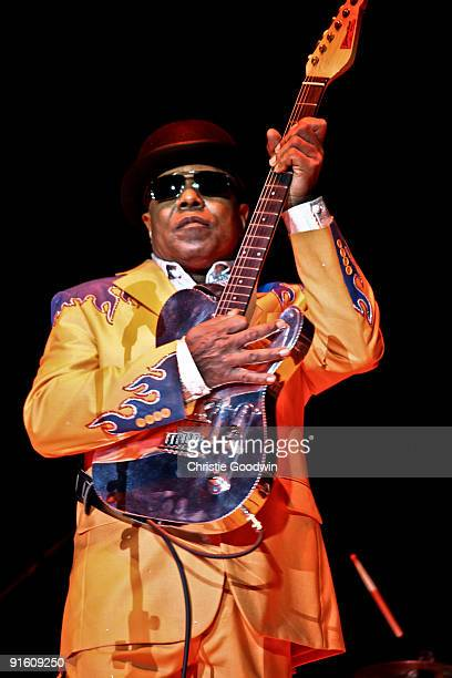 Tito Jackson performs at the Wembley Arena on October 8 2009 in London England