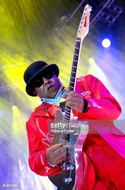 Tito Jackson performs supporting Gladys Knight at MEN Arena on October 6 2009 in Manchester England