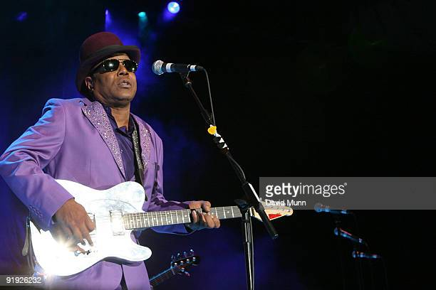 Tito Jackson supporting Gladys Knight performs at Echo Arena on October 15 2009 in Liverpool England