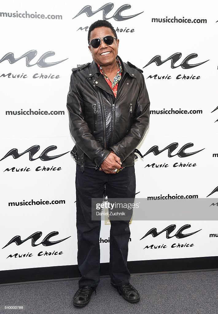 Tito Jackson visits Music Choice on June 13, 2016 in New York City.