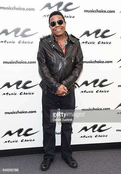 Tito Jackson visits Music Choice on June 13 2016 in New York City