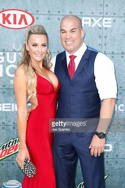 Tito Ortiz and Amber Nichole attend Spike TV's Guys Choice 2015 at Sony Pictures Studios on June 6 2015 in Culver City California