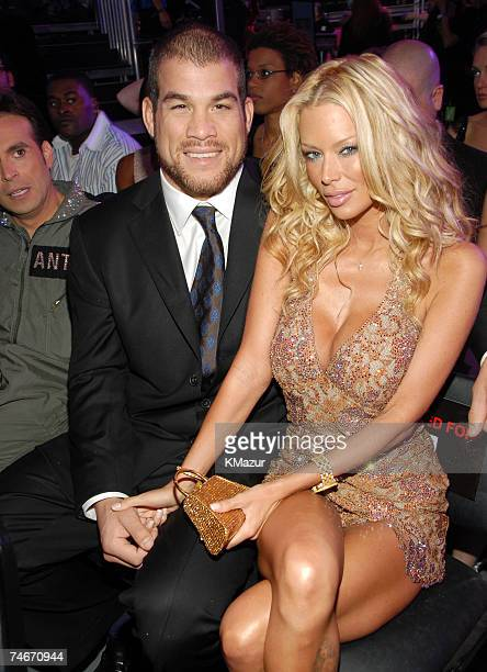Tito Ortiz and Jenna Jamison at the Sony Studios in Culver City California