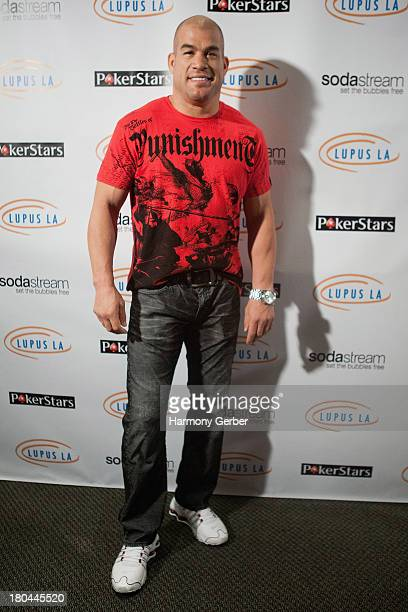 Tito Ortiz attends the Get Lucky For Lupus LA event at Peterson Automotive Museum on September 12 2013 in Los Angeles California