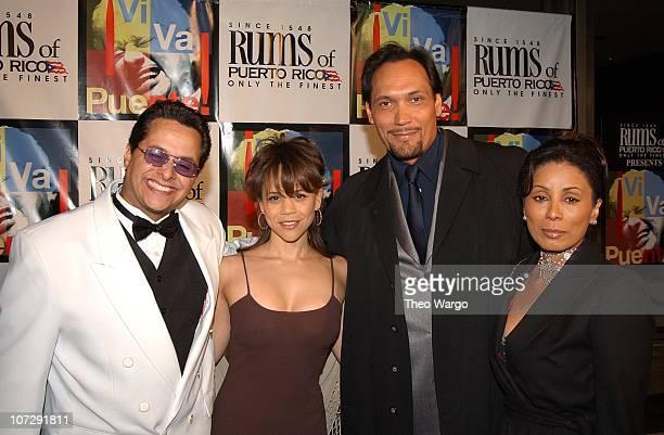 Tito Puente Jr Rosie Perez Jimmy Smits and Wanda de Jesus