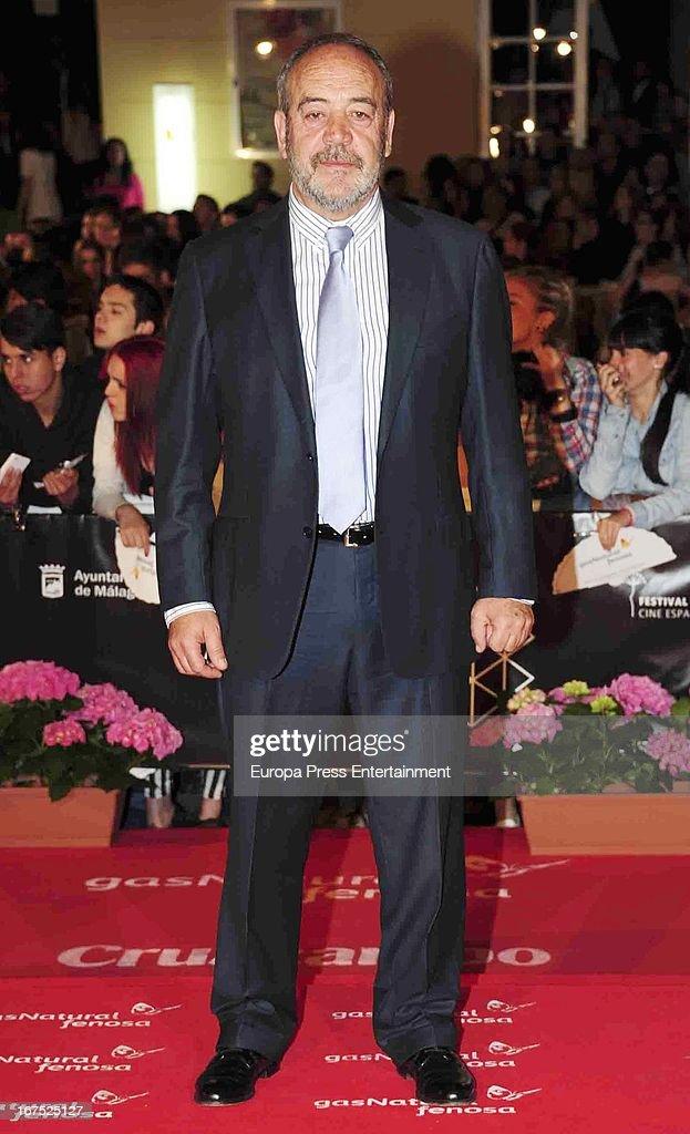 Tito Valverde attends Malaga Film Festival 2013 on April 25, 2013 in Malaga, Spain.