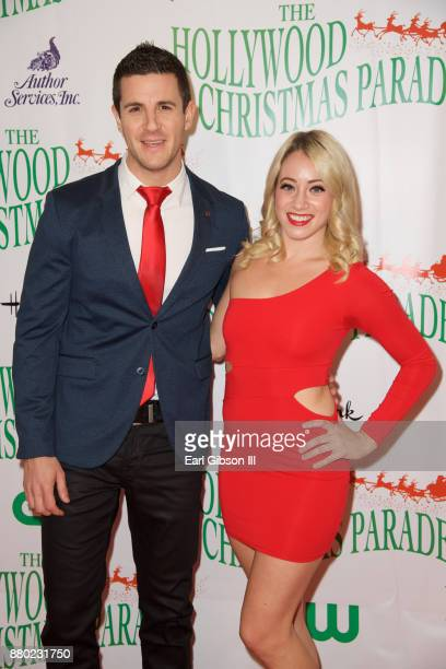 Titou and Natalie of Masters of Illusion attend the 86th Annual Hollywood Christmas Parade on November 26 2017 in Hollywood California