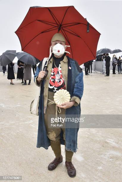 Titus attends the Dior Womenswear Spring/Summer 2021show as part of Paris Fashion Week on September 29, 2020 in Paris, France.