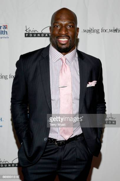 Titus O'Neil attends the 16th Annual Waiting for Wishes Celebrity Dinner Hosted by Kevin Carter Jay DeMarcus on April 18 2017 in Nashville Tennessee