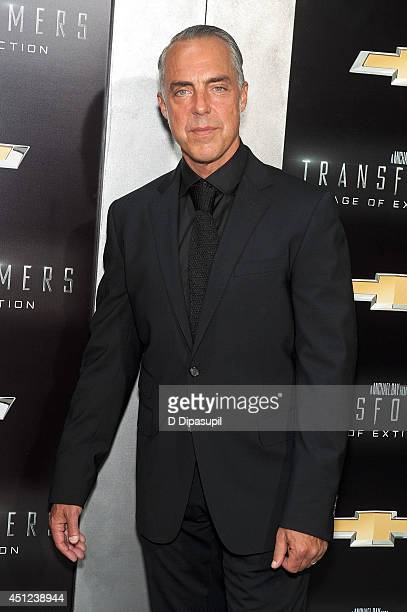 Titus Welliver attends the Transformers Age Of Extinction premiere at Ziegfeld Theater on June 25 2014 in New York City