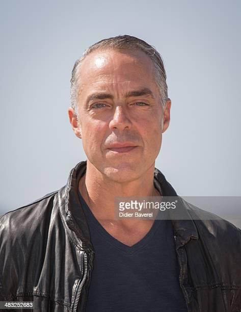 Titus Welliver poses during the photocall of 'Bosch' at MIPTV 2014 at Hotel Majestic on April 7 2014 in Cannes France