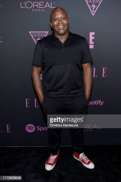 Tituss Burgess attends ELLE Women in Music presented by Spotify and hosted by Nina Garcia Jameela Jamil E Entertainment on September 05 2019 in New...