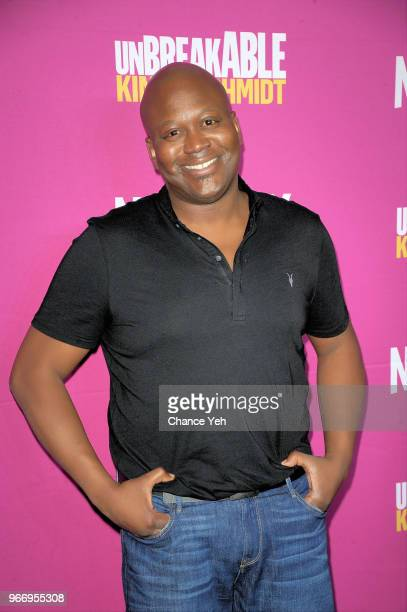 Tituss Burgess attends #NetflixFYSee 'Unbreakable Kimmy Schimdt' for Your Consideration Event at DGA Theater on June 3 2018 in New York City