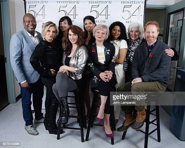 Tituss Burgess Orfeh Lena Hall Leslie Margherita Cecily Strong Martha Plimpton Rebecca Naomi Jones Betty Buckley and Jesse Tyler Ferguson attend...