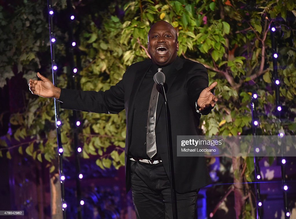Tituss Burgess performs onstage at Logo's 'Trailblazer Honors' 2015 at the Cathedral of St. John the Divine on June 25, 2015 in New York City.