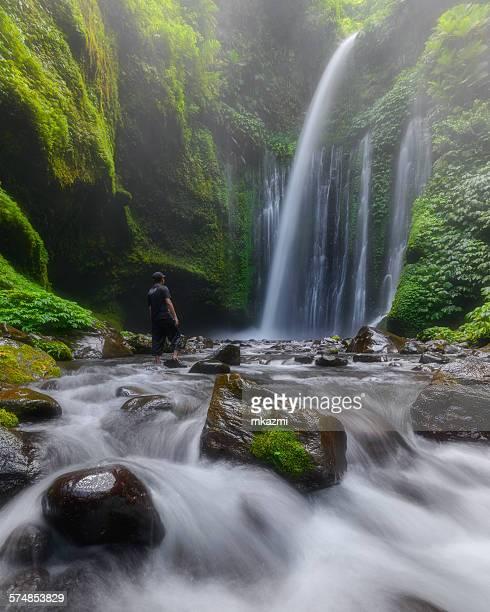Tiu Kelep Waterfall, Lombok, Indonesia