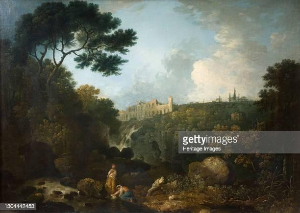 Tivoli - The Villa Of Maecenas, 1767. Artist Richard Wilson.