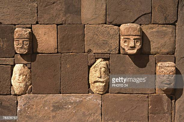 Tiwanaku ruins, Bolivia