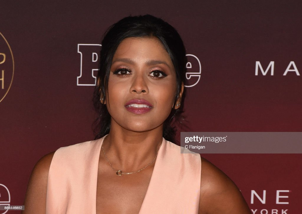 Tiya Sircar attends People's 'Ones to Watch' at NeueHouse Hollywood on October 4, 2017 in Los Angeles, California.